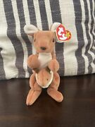 Original Rare Collectible Ty Beanie Baby Pouch 1996