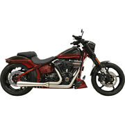 Harley Bassani Systandegraveme Dand039andeacutechappement Route Rage Iii Court 21 Softail 07-17 4