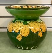 Antique Royal Doulton Vase Hand Painted Tulips 1900-1920