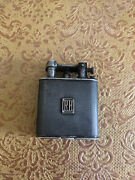 Antique English Sterling Silver Cigarette Ligther Dunhill Circa 1924