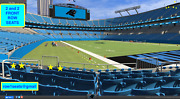 4 Front Row New Orleans Saints At Carolina Panthers Tickets 106 Row 1