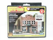N 1/160 Scale Woodland Scenics Building Kit Pf5201 Planters Feed And Seed Supply