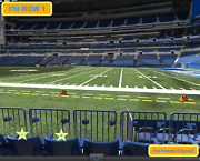 4 Front Row Jacksonville Jaguars At Indianapolis Colts Tickets 110 Row 1