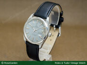 Tudor Watch Vintage Small Rose Oyster Date Automatic Matte Gray Dial Men