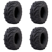4 Pack Tusk Mud Force® Tire 25x10-12 - Fits Polaris Sportsman Ace 900 2016