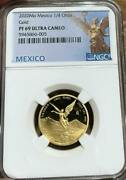 2020 Mo Mexico 1/4 Oz Onza Gold Proof Libertad Ngc Pf 69 Ucam Mintage Of 250