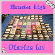 Monster High 50 1st Wave Diary Journals Lot And More Plus A Free Gift See Pics