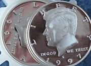 1997-s Kennedy Half Dollar Dcam Clad Proof Lot Of 11 Coins E0464