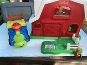 Fisher Price Little People Animal Friends Farm Barn With Sounds And Train