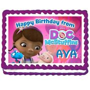 Disney Doc Mcstuffins Designs Cake Tops Cupcake And Cookies Supreme Icing Sheets