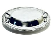 Fabulous Vintage Wm Rogers By Oneida Vegetable Dish Silver Plt Bowl With Covered