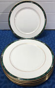 7 Lenox Kelly Debut Collection Dinner Plates 10 3/4andrdquo Mint Condition Usa