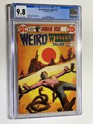 Weird Western Tales 14 Cgc 9.8 Ow/w Pages Dc Comics 1972