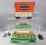 Lionel Vintage O Postwar Freight Cars And Stations 3462, 3656 [2]/box