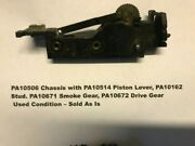 American Flyer Original Parts - Pa10506 Chassis W/gear And Lever