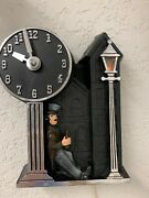 Restored Vintage Mastercrafters Master Crafters Drunk Back To The Future Clock