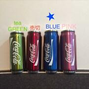 Coca-cola Design Stainless Steel Vacuum Insulated Water Bottle Blue Color