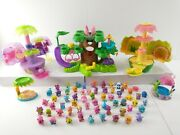 Hatchimals Colleggtibles Bundle Lot Of 60+ Toy Figures And Several Playsets Clean
