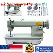 Industrial Strength Sewing Machine Heavy Duty Upholstery And Leather + 1pc Winder