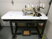 Yamato Vc2700 3 Needle Top And Bottom Coverstitch 110v Industrial Sewing Machine