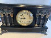 Baldwin Eight Day Half Hour Strike Cathedral Gong Session Mantel Clock