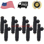 8x 60lb Ev1 Fuel Injectors Fi114961 107961 For Ford Mustang Chevy Camaro Ls6 Usa
