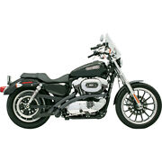 Harley Bassani - Exhaust System Radial Sweeper Black Xl Sportster 1200 883 07-13