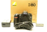 Nikon D80 Digital Slr Camera - With Ac Charger And Extra Battery Parts Repair