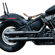 Harley S And S Cycle Grand National Exhaust Tanduumlv Black Softail M 8