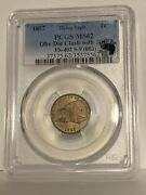 1857 Flying Eagle Cent - Pcgs Ms62