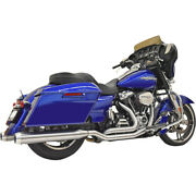 Harley Bassani - Exhaust System Stainless True Dual Performance Touring 17-21 M