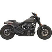 Harley Bassani - Exhaust System Radial Sweeper 18-21 Fx Softail Black