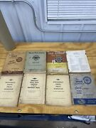 Vintage 1929-1974 Chevrolet Master Parts And Accessories Catalog Lot Of 9 Books