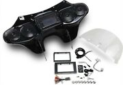 Hoppe Industries - Hpkt-0061a - 5566 Fairing With Stereo Receiver Harley-davidso