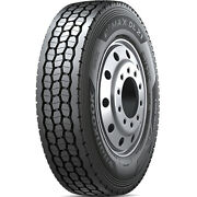 4 New Hankook E3 Max Dl21 285/75r24.5 Load G 14 Ply Drive Commercial Tires