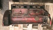 Ford 8n Gas Tractor 4 Cylinder Engine Motor Block An Camshaft And Oil Pump 8 N