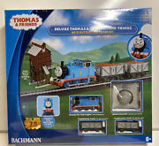 Bachmann Ho Scale Thomas And Friends Deluxe Thomas And Troublesome Trucks Train Set