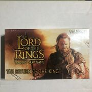 Lord Of The Rings Lotr Ccg Tcg The Return Of The King Sealed Booster Box