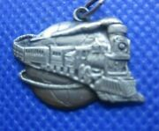 Sterling Silver Wabash Cannonball Charm
