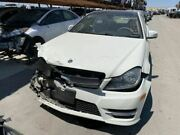 Engine 204 Type C250 Coupe Fits 12 Mercedes C-class 17403945