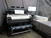 Good Canon Imageprograf Ipf780 36 Wide Printer And M40 Scanner