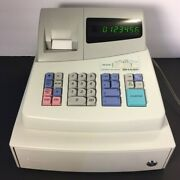 Sharp Xe-a101 Electronic Cash Register High Contrast Led New And Spare Ink Roller