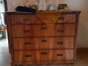 Antique Chest Of Drawers Solid Wood