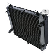 Black Radiator Engine Cooling Fit For Yamaha Yzf R1 Yzf-r1 Yzfr1 00-01 2000 2001