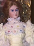 Thelma Resch Doll Porcelain Victorian Lady Style Ornate Signed Blond 1991/ 1987