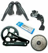 Shimano Grx Di2 1x11 Disc St/fd/rd-rx815 Fc-rx810 M8000 Groupset +br Read