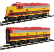Walthers 910-19952 Ho Kansas City Southern F7 A-b Diesel Loco Sound/dcc 1, 3