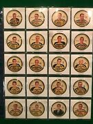 1960-61 Shirriff/salada Hockey Coins Complete Set With Shields