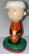 Vintage 1972 Charlie Brown Peanuts 5.5 Baseball Statue Determined Productions