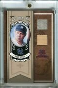 2005 Diamond Kings Babe Ruth Heroes Game Used Jersey Bat Relic D 01/25